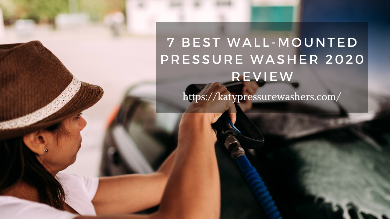 Wall-mounted Pressure Washer